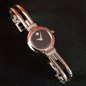 Accessories - Movado museum diamond watch